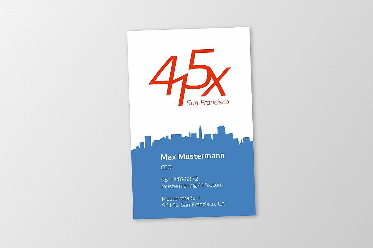 Corporate Identity - 415x IT solutions San Francisco